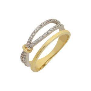 Χρυσό δαχτυλίδι Κ14-Κ9 ΔΒΗ645