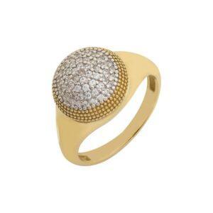 Χρυσό δαχτυλίδι Κ14-Κ9 ΔΒΗ633
