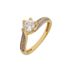 Χρυσό δαχτυλίδι Κ14-Κ9 ΔΧΗ593