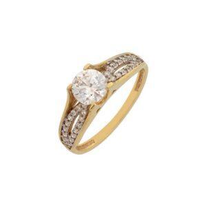 Χρυσό δαχτυλίδι Κ14-Κ9 ΔΧΗ580