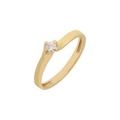 Χρυσό δαχτυλίδι Κ14-Κ9 ΔΧΗ568