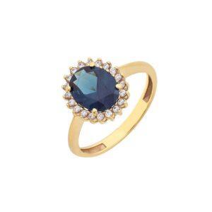 Χρυσό δαχτυλίδι Κ14-Κ9 ΔΧΗ690