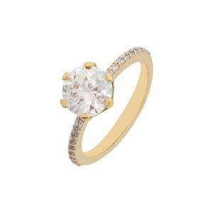 Χρυσό δαχτυλίδι Κ14-Κ9 ΚΛΗ718