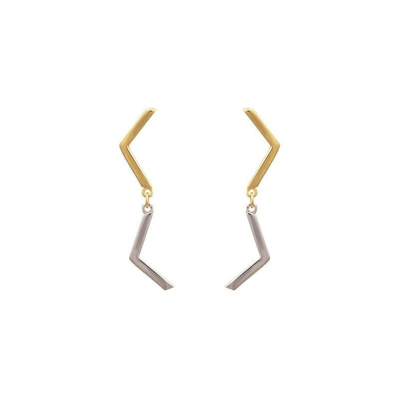 Χρυσά σκουλαρίκια Κ14-Κ9 ΣΝ848