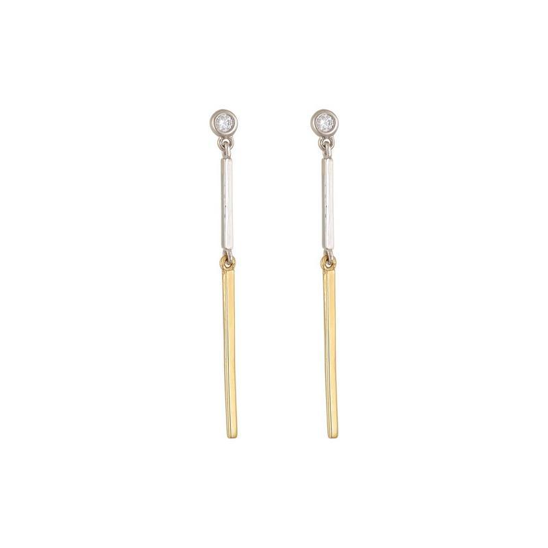 Χρυσά σκουλαρίκια Κ14-Κ9 ΣΝ860