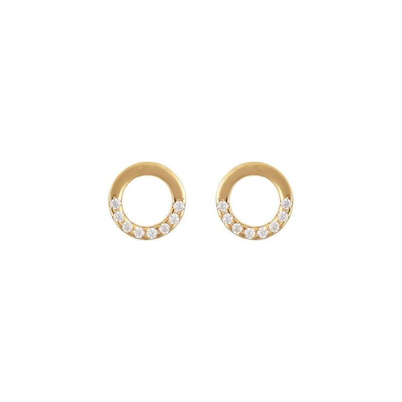 Χρυσά σκουλαρίκια Κ14-Κ9 Σ254