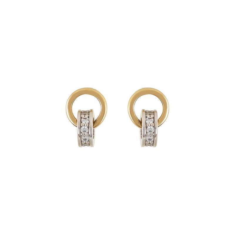 Χρυσά σκουλαρίκια Κ14-Κ9 Σ259