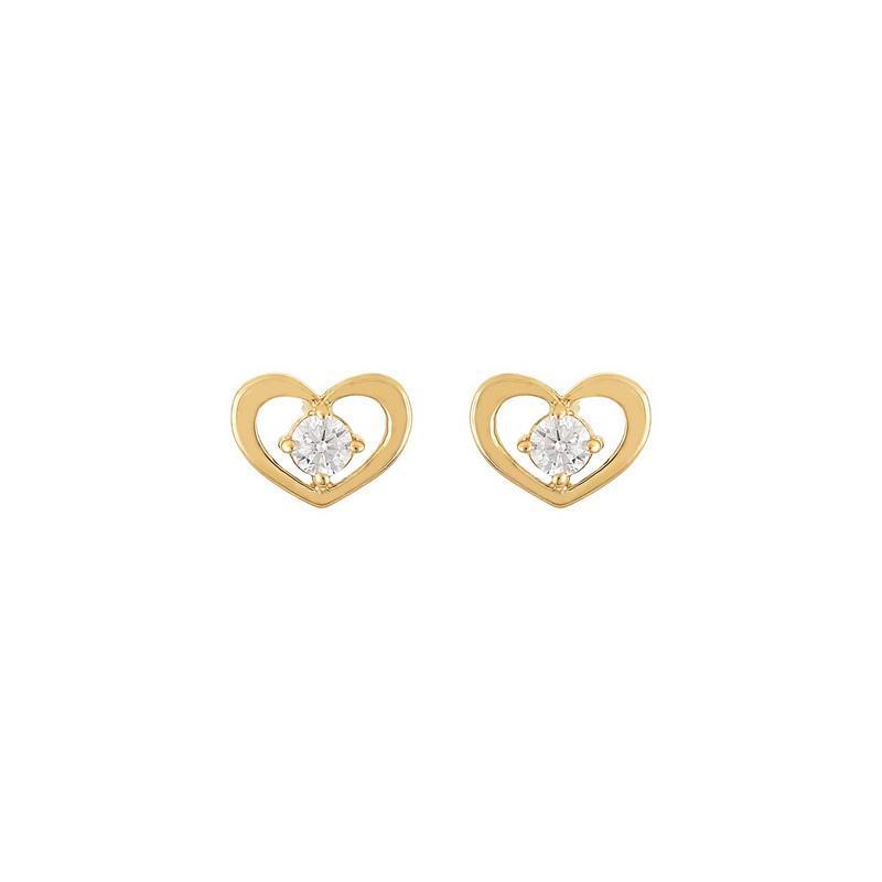 Χρυσά σκουλαρίκια Κ14-Κ9 Σ253