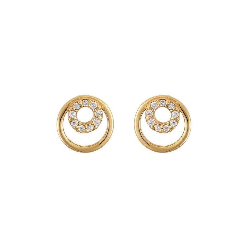 Χρυσά σκουλαρίκια Κ14-Κ9 Σ248