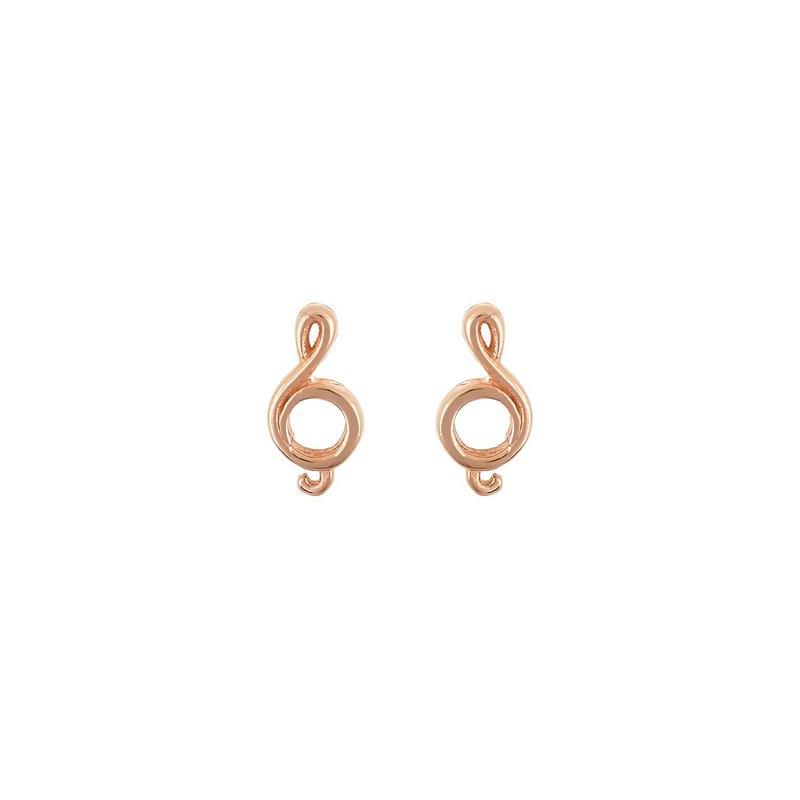 Χρυσά σκουλαρίκια Κ14-Κ9 Σ245