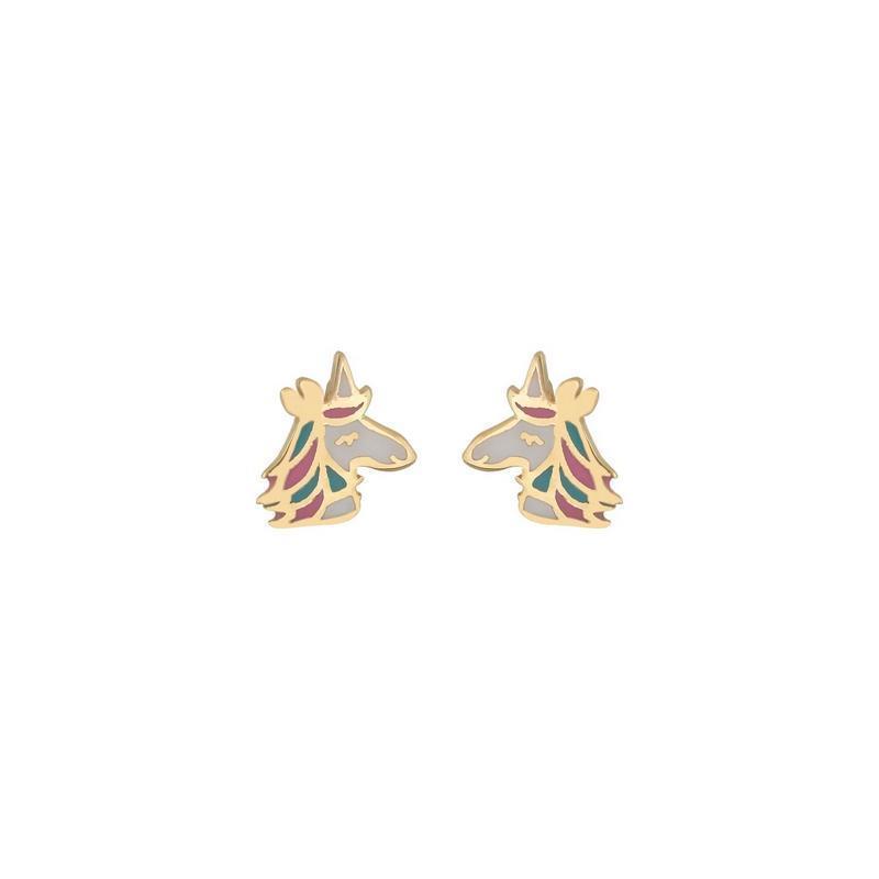 Χρυσά σκουλαρίκια Κ14-Κ9 ΣΖ389