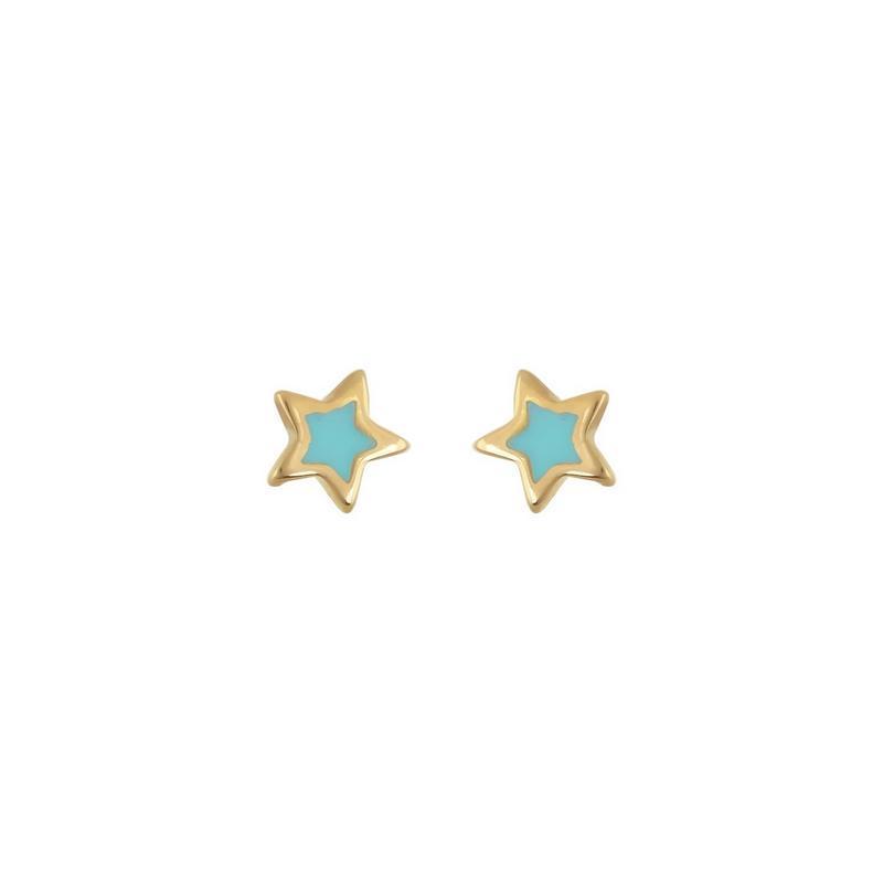 Χρυσά σκουλαρίκια Κ14-Κ9 ΣΖ350