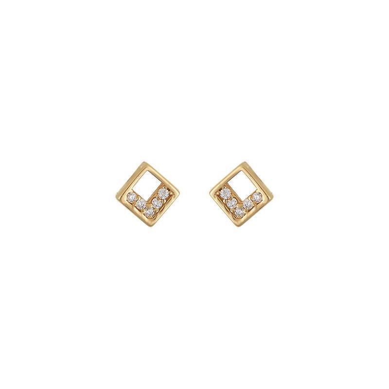 Χρυσά σκουλαρίκια Κ14-Κ9 Σ249