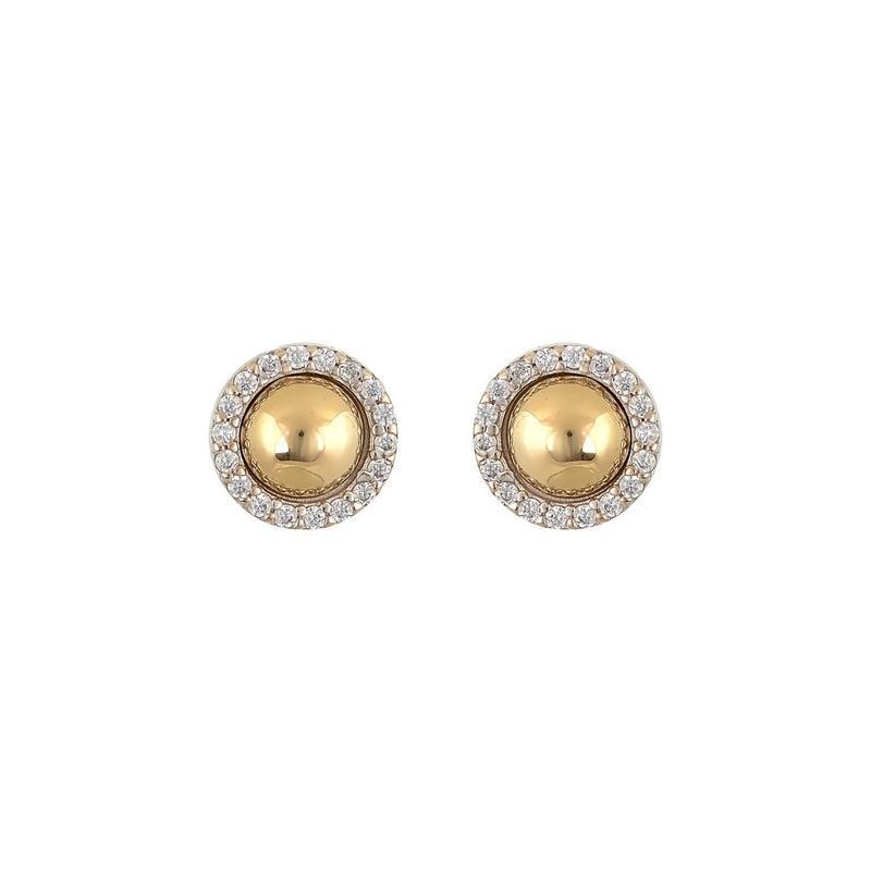 Χρυσά σκουλαρίκια Κ14-Κ9 Σ258