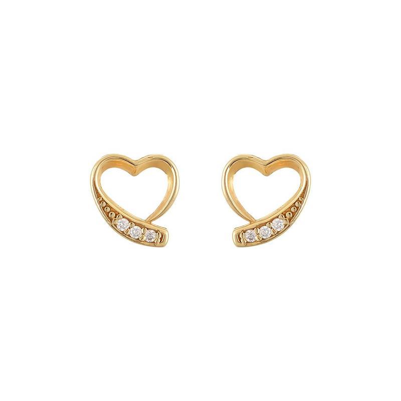 Χρυσά σκουλαρίκια Κ14-Κ9 Σ257