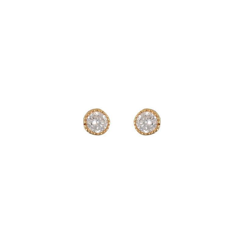 Χρυσά σκουλαρίκια Κ14 ΣΡ240