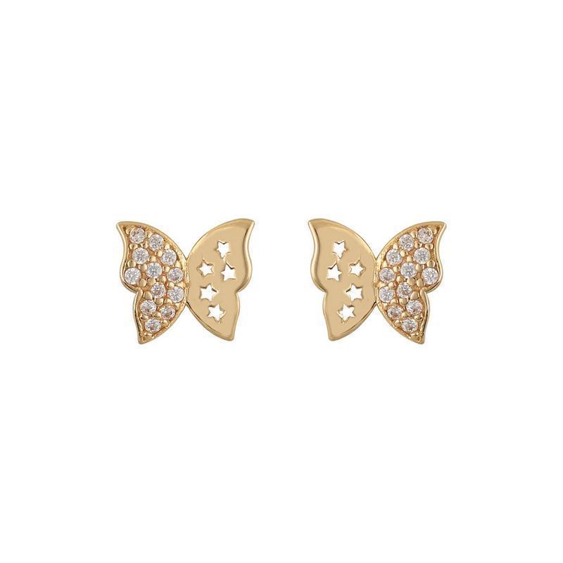 Χρυσά σκουλαρίκια Κ14 ΣΡ235