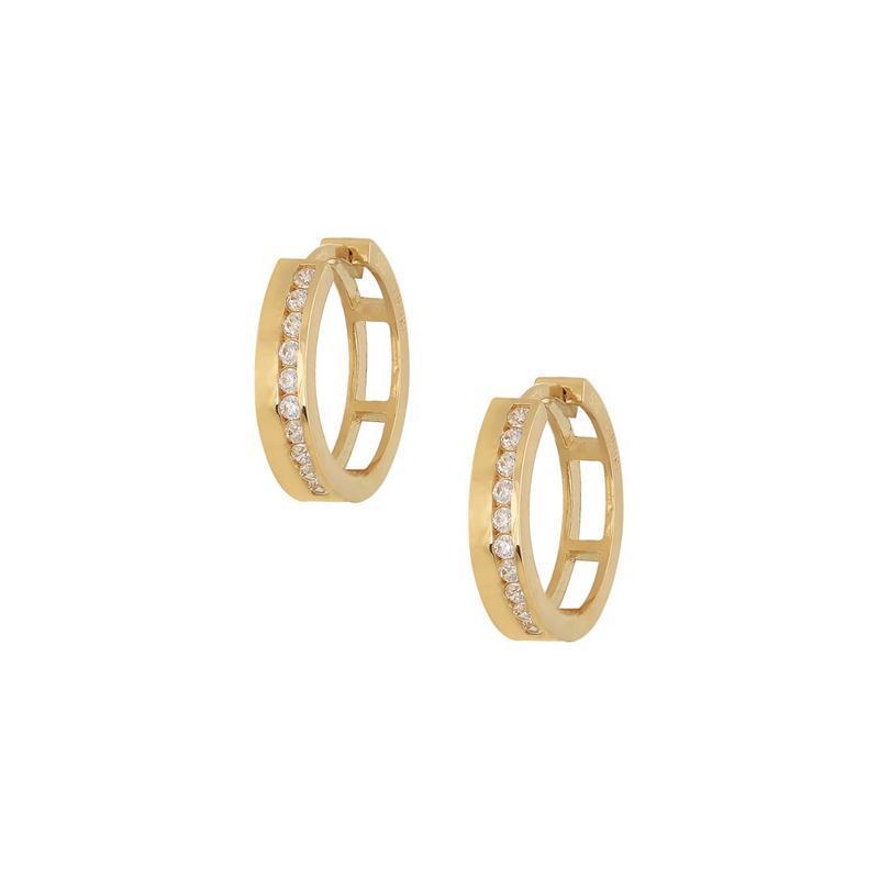 Χρυσά σκουλαρίκια Κ14 ΣΡ226