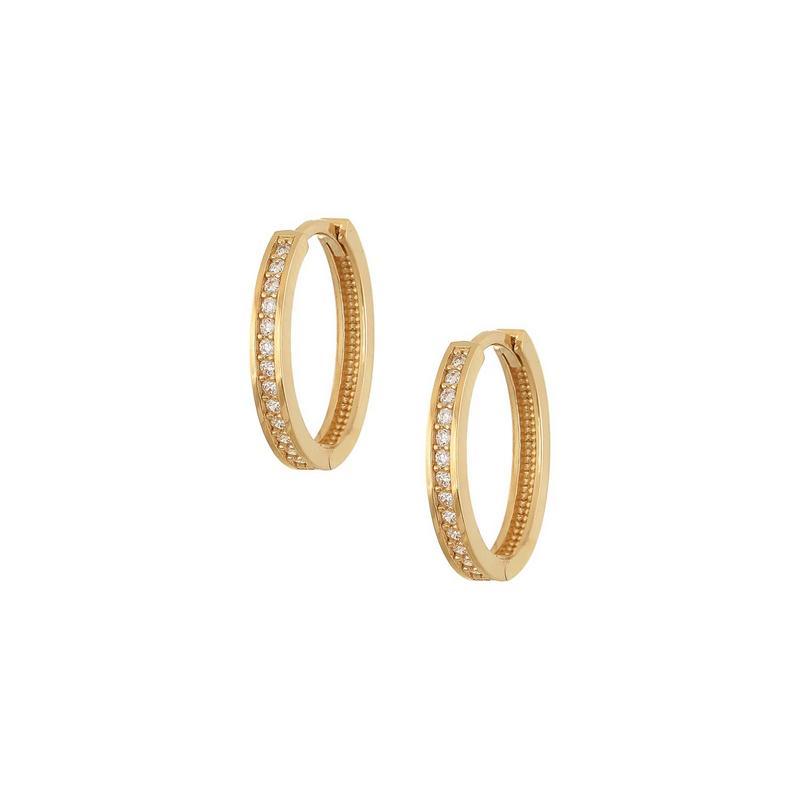 Χρυσά σκουλαρίκια Κ14 ΣΡ230