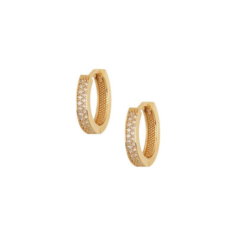 Χρυσά σκουλαρίκια Κ14 ΣΡ231