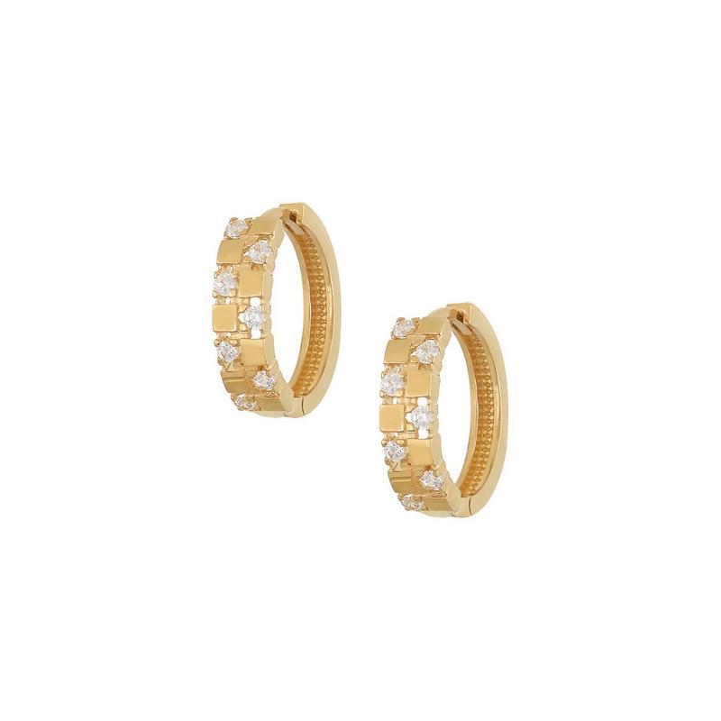 Χρυσά σκουλαρίκια Κ14 ΣΡ225