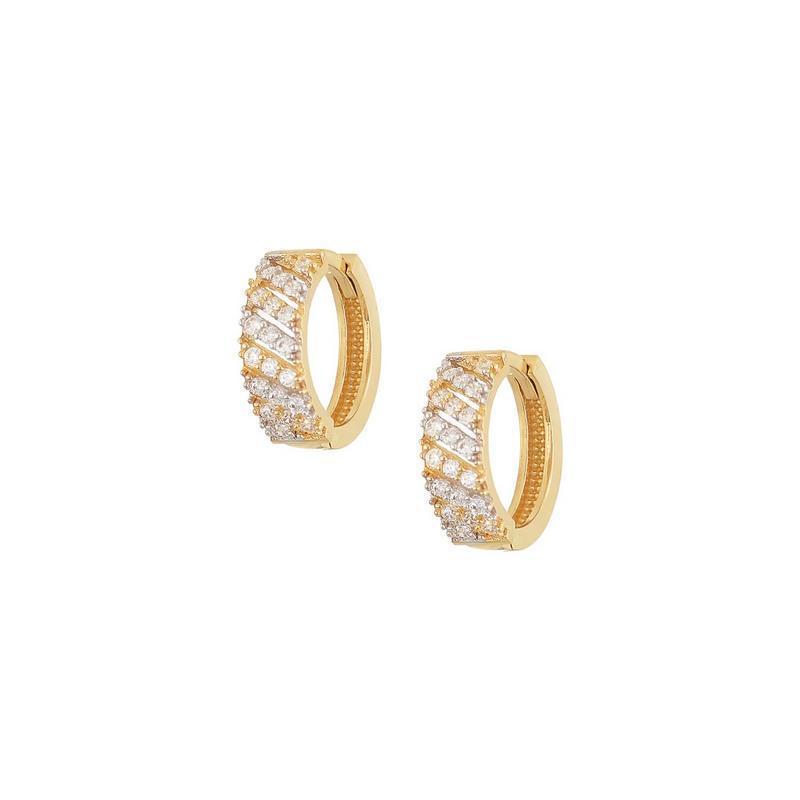 Χρυσά σκουλαρίκια Κ14 ΣΡ220