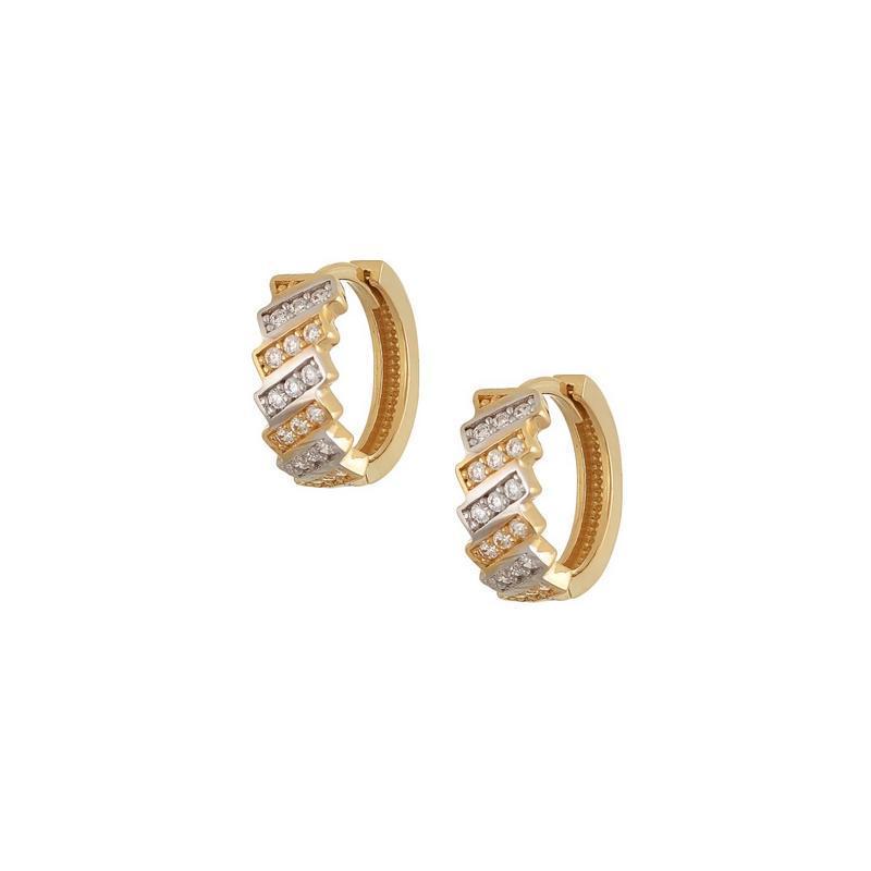 Χρυσά σκουλαρίκια Κ14 ΣΡ224
