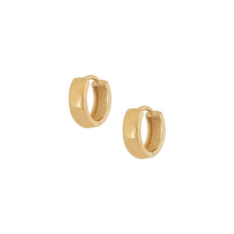 Χρυσά σκουλαρίκια Κ14 ΣΡ221