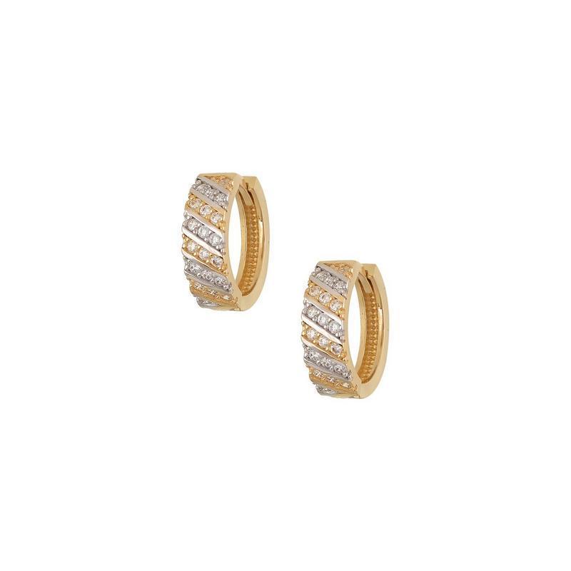 Χρυσά σκουλαρίκια Κ14 ΣΡ222