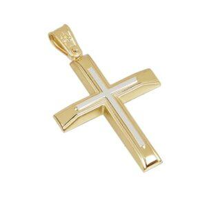 Χρυσός σταυρός Κ14 T32