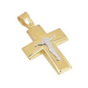 Χρυσός σταυρός Κ14 Τ222