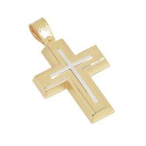 Χρυσός σταυρός Κ14 Τ221