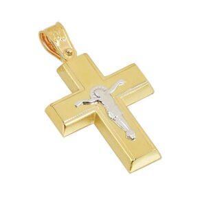 Χρυσός σταυρός Κ14 Τ219