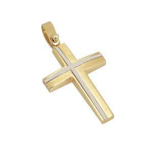 Χρυσός σταυρός Κ14 Τ146