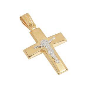 Χρυσός σταυρός Κ14 Τ232