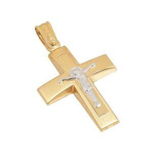 Χρυσός σταυρός Κ14 Τ234
