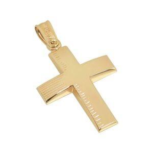 Χρυσός σταυρός Κ14 Τ230