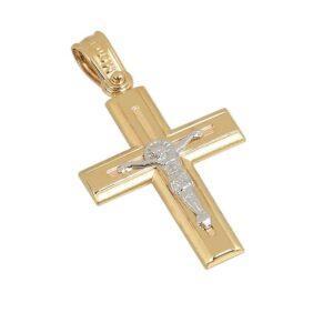 Χρυσός σταυρός Κ14 Τ251