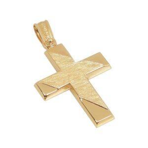 Χρυσός σταυρός Κ14 Τ223