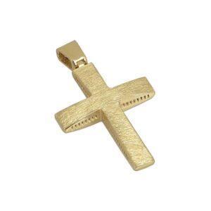 Χρυσός σταυρός Κ14 T7
