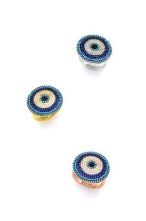 Ασημένιο δαχτυλίδι στόχος 04-04-3339