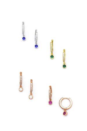 Ασημένια σκουλαρίκια 04-05-2499