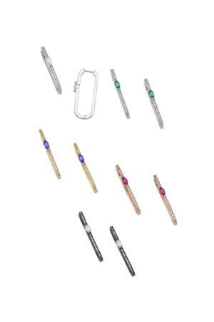 Ασημένια σκουλαρίκια 04-05-2641